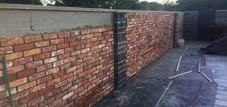 brickslips garden walls brick slips