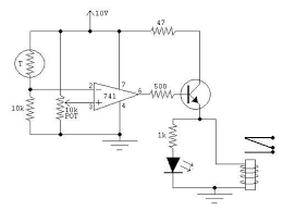 pid controller building a temperature controlled water bath schematic