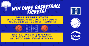 Duke Basketball Seating Chart Win Duke Basketball Tickets Ferris State North Carolina