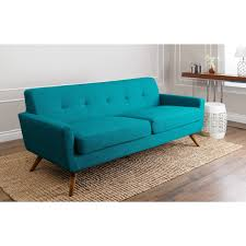 Update your home with modern style thanks to this petrol blue sofa ...