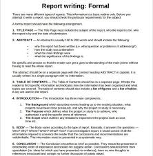 Sample Formal Report – 10+ Documents In Pdf For Business Report ...