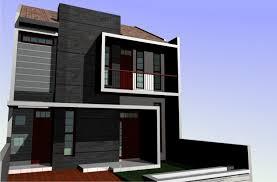 70 desain rumah minimalis 2 lantai modern terbaru renovasi rumah net
