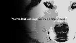 Famous Quotes About Wolves