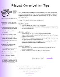 Tips For Cover Letters Example Of A Cover Letter For A Resume Resume Badak Cover Letter 1