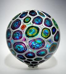 Glass artist David Patchen uses an old Italian technique (murrhine ...