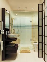 modern bathrooms designs. Stunning Mid Century Modern Asian Themed Bathroom Idea Bathrooms Designs