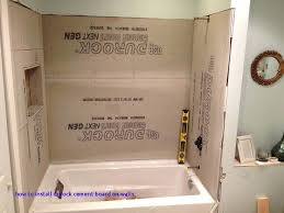 durock cement board which side out cement board bathroom tile backer board home how to install
