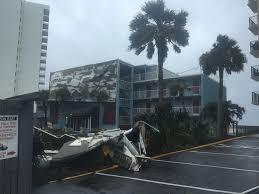 garden city inn. Wind From Irma Blows Roofing Off Of Garden City Inn. (WPDE) Inn X