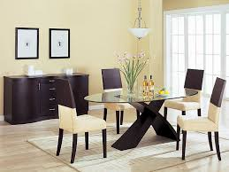 beautiful glass top table dining room chairs small chandelier