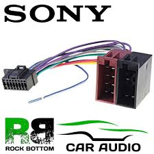sony cdx gt270mp wiring diagram sony image wiring sony mex n4100bt car radio stereo 16 pin wiring harness loom iso on sony cdx gt270mp