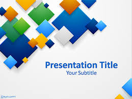 Free Business Abstract Background Powerpoint Template