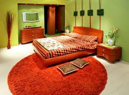 small master bedroom colors design ideas stuning orange color small master bedroom design with round