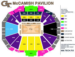 seating chart hover over any section for an arena view and the season ticket cost for that area georgia tech ticket office