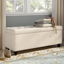 upholstered storage bedroom bench.  Upholstered Diamond Sofa Chesterfield Upholstered Storage Bedroom Bench U0026 Reviews   Wayfair On U