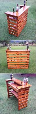 Wood Pallet House Low Cost Diy Pallet Wood Creations Wood Pallet Bar Wood Pallets