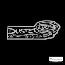 dodge duster logo. Plain Dodge Plymouth Duster Sign To Dodge Duster Logo