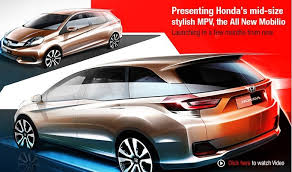 new car launches honda mobilioHonda Mobilio Honda Mobilio onroad price Honda Mobilio release