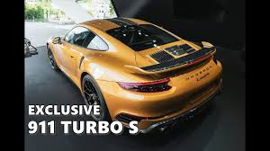 2018 porsche turbo s exclusive. interesting 2018 up close with porsche 911 turbo s exclusive series live shots in 2018 porsche turbo s exclusive