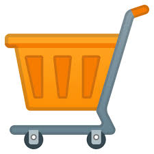 Image result for emojis of trolly bag of supermarkets