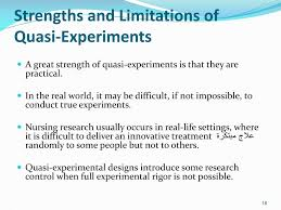 Experimental Design In Nursing Research Ppt Quasi Experiments Powerpoint Presentation Free
