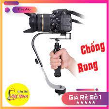 Tay cầm quay phim chống rung máy ảnh máy quay chuyên nghiệp