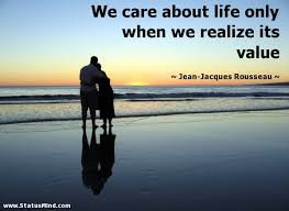 Value Of Life Quotes