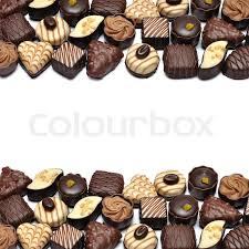 chocolate candy borders.  Borders Border Of Different Chocolate Candies Over White Background  Stock Photo  Colourbox For Chocolate Candy Borders