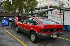 1984 Honda Civic CRX 1.5 related infomation,specifications - WeiLi ...