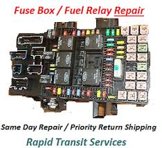 ford expedition lincoln navigator 2003 2006 fuse box fuel pump fuse box repair on 2007 dodge ram 1500 image is loading ford expedition lincoln navigator 2003 2006 fuse box