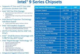 This Is Intels 9 Series Chipset The Tech Report