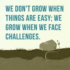 Facechallengespicturequote Gorgeous Quotes About Challenges