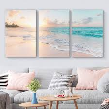 Sign up or sign in. Amazon Com Signford 3 Piece Canvas Wall Art For Living Room Bedroom Home Artwork Paintings Romantic Beach Ready To Hang 16 X24 X 3 Panels Posters Prints