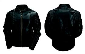 armored leather jacket that looks both on and riding jeans for dummies