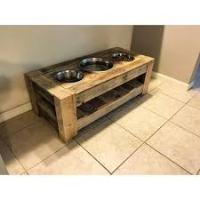 the 3 hole dog bowl stand one of my favorite piecessimple functional design but more importantly made of s wood by wornstandard