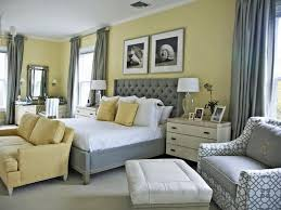 yellow bedroom furniture. Sophisticated, Comfy - Pale Yellow Walls White Trim, Grey Carpet; Medium Greys, Light Yellows, White, Winter-white In Solids/prints Around Room; Bedroom Furniture I