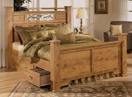 Bittersweet King Size Poster Bed By Signature Design Country Bedroom  Furniture Sets