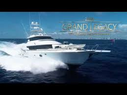 Legacy is a 35.97m superyacht built by broward marine in united states of america and delivered in 2000. Grand Legacy 90 2008 Affinity Yachtfisherman For Sale Youtube