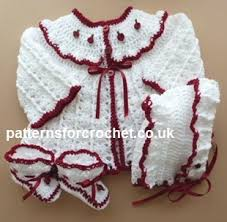 Free Baby Crochet Patterns Adorable Free Baby Crochet Pattern 48 Piece Outfit Eblink Usa