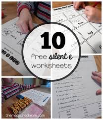 Then they can write out the word. Worksheets For U E Words The Measured Mom