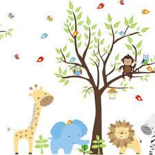 baby zoo animals nursery. Plain Nursery Nursery Wall Decal Animal Blue Elephant Zoo To Baby Animals L