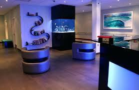 office fish tank. Fish Tank Ideas Home Small Office Lobby Simple Decoration