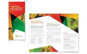 make tri fold brochures how to create a trifold brochure in indesign free template