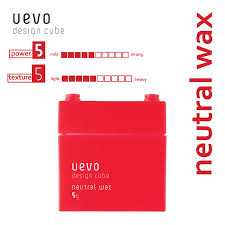 Uevo Design Cube Demi Uevo Design Cube Neutral Wax 80g
