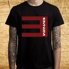 Details About New Eminem Recovery Rapper Logo Mens Black T Shirt Size S 3xl