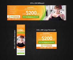 Ad Designs Elegant Playful Fitness Banner Ad Design For A Company By