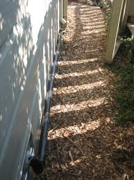 Kitchen Sink System Branched Drain - Exterior drain pipe
