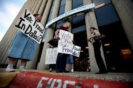Rare Texas Voter Opinion Fraud The Boogeyman Politics Dallas News Of