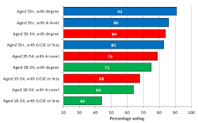 Highly Educated Young People Are Less Likely To Vote Than
