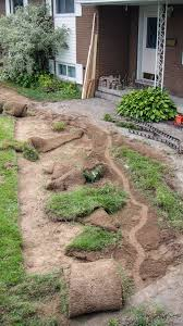 Diy Sod Project Walkway Removing Sod Madness Method