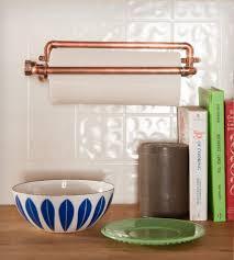Kitchen Towel Holder Industrial Copper Paper Towel Holder Home Kitchen Pantry